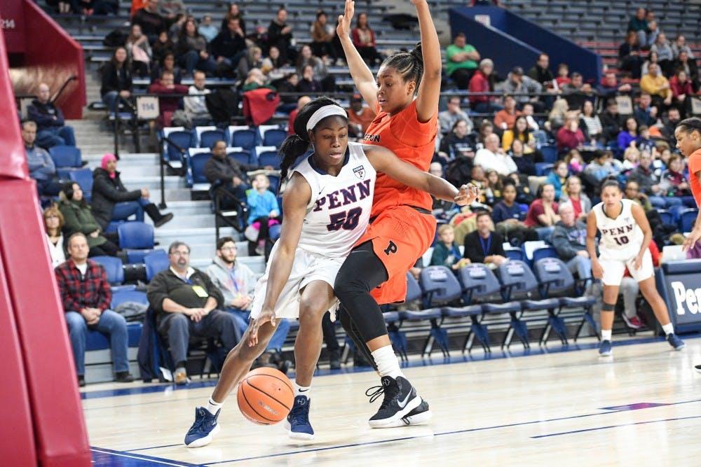 Halftime Penn Women S Basketball Leads Princeton 33 28 At The