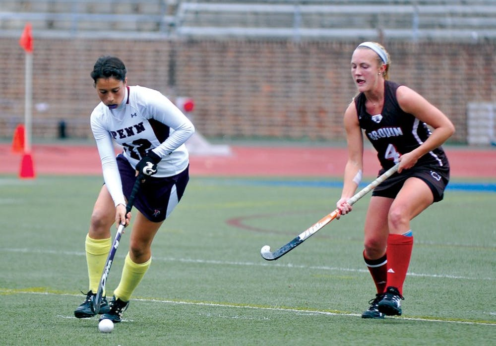Field Hockey defeats Brown in sudden-death overtime in the Homecoming Game. Score: 2-1, the game was moved an hour earlier due to the impending Hurricane Sandy.
