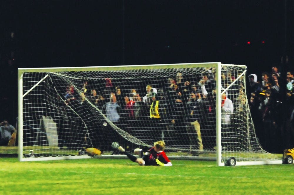 Men's Soccer loses their first NCAA match against Providence in a shootout.