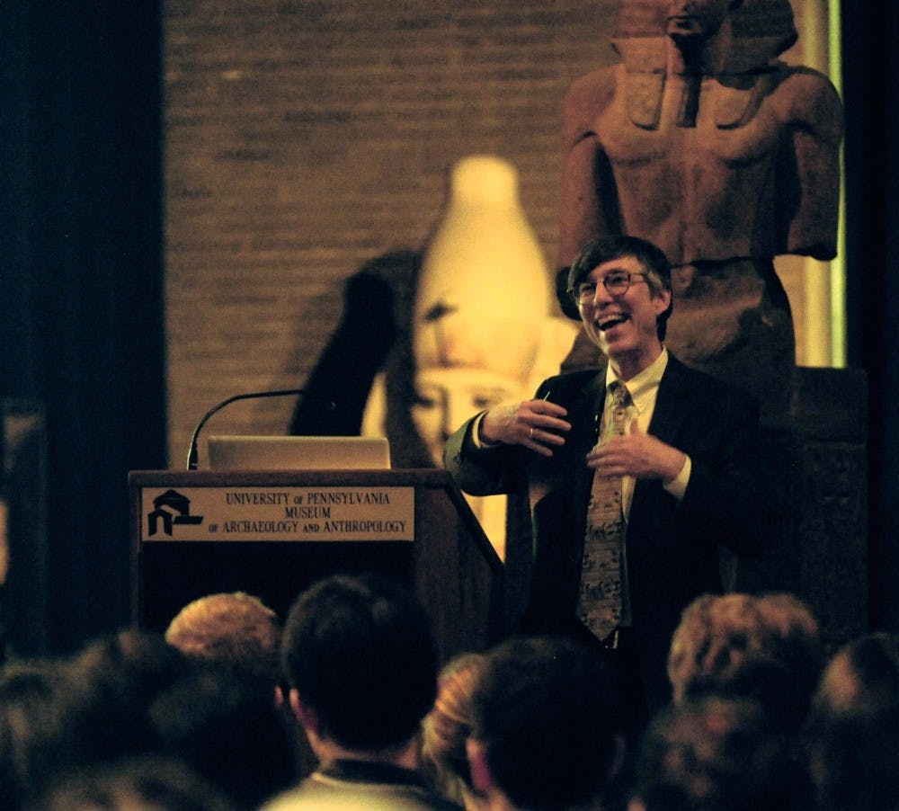 Professor of classical archaeology C. Brian Rose gave a lecture entitled 'Fifty Shades of Pompeii' Tuesday at the Penn Museum. Read more here.