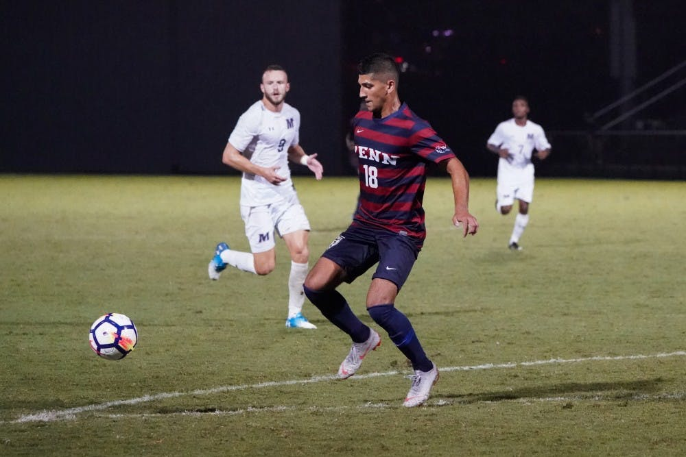 Penn men's soccer kicks off season with 2-0 road win over
