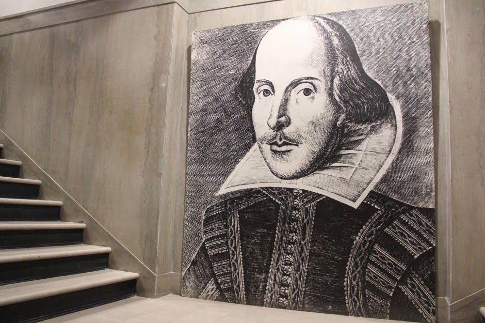 Students removed a portrait of Shakespeare and replaced it with that of author Audre Lorde to send a message to the Penn English Department.