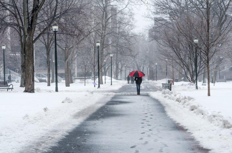 Snow storm Stella hits Penn