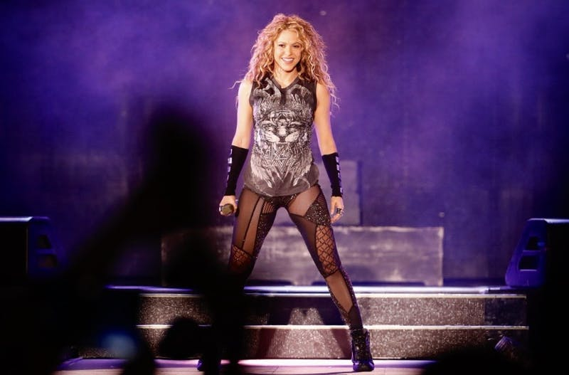 Last month, Shakira performed at the Super Bowl. Now, she's taking a Penn course.