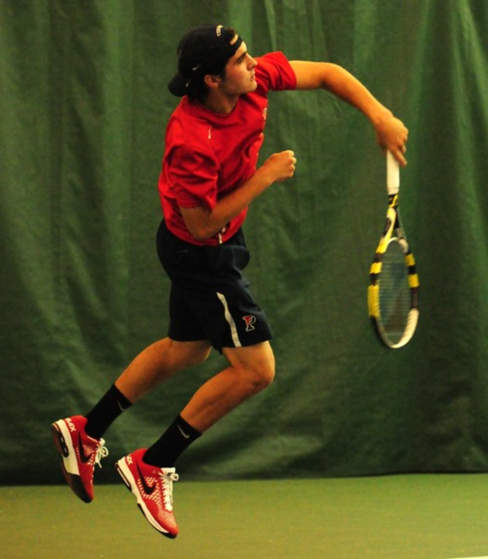Penn Men's Tennis vs. Princeton