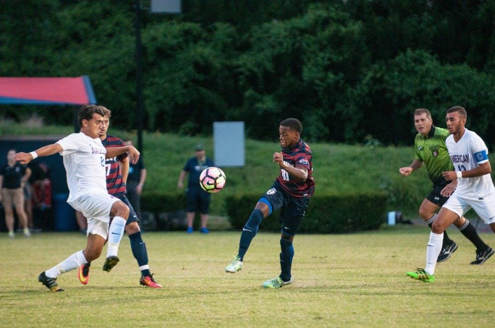 Penn men's soccer battles to tight 1-1 draw against Cornell in Ivy