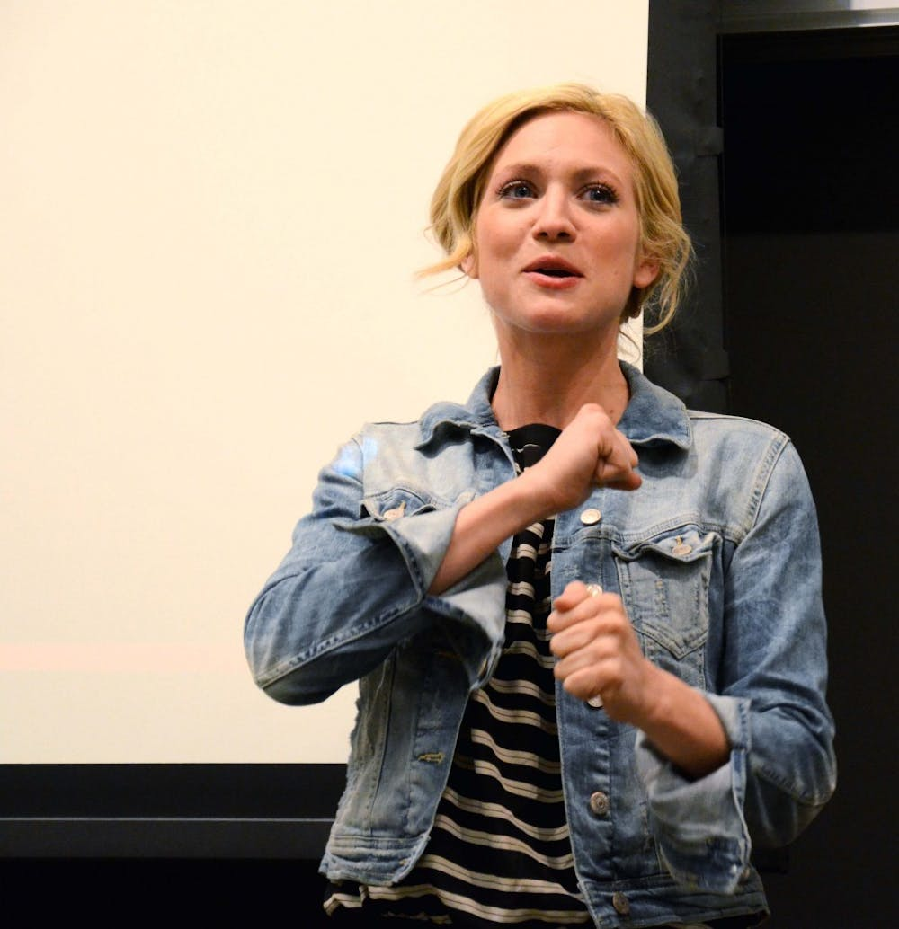 Actress Brittany Snow — known for her performances in