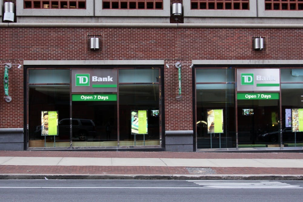 The TD Bank at 37th and Walnut street was robbed in broad daylight on Wednesday.