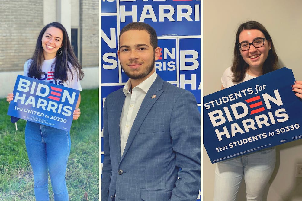 bayley-tuch-gianni-hill-and-rachel-zaff-biden-campaign