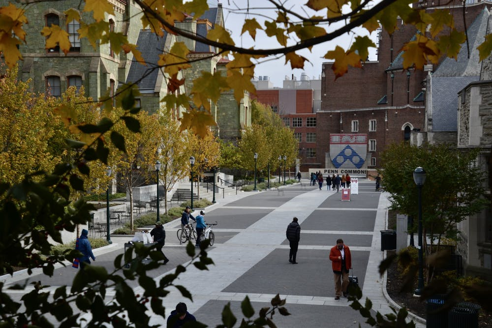 penn-fall-campus-leaves-people-students