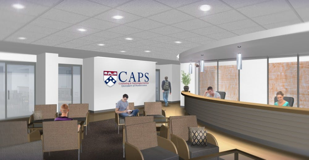 CAPS will relocate to an office at 3624 Market St., shown here in a preliminary rendering by the architect that will design the new office space.