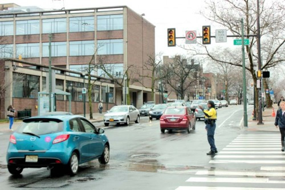 <p>Six accidents have occurred on the busy intersection of 38th Street and Spruce Street since the beginning of 2015.</p>