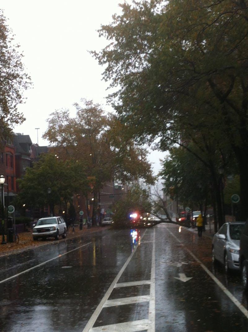 Hurricane Sandy at Penn