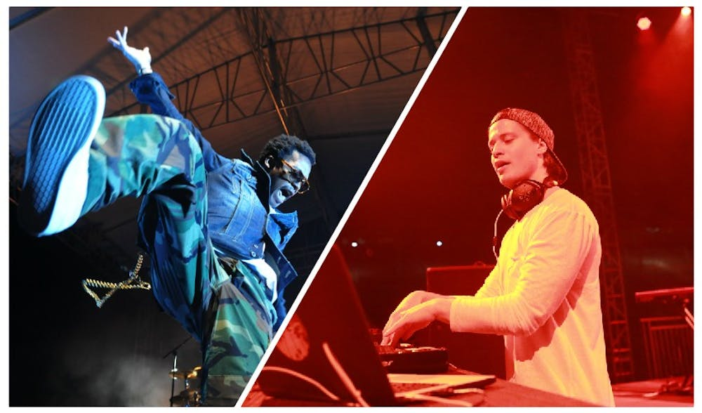 Ratatat, Flo Rida, and Lupe Fiasco performed at Spring Fling 2011, while Kesha and Kygo took the stage this spring.