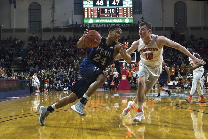 Men's basketball falls to Princeton in overtime