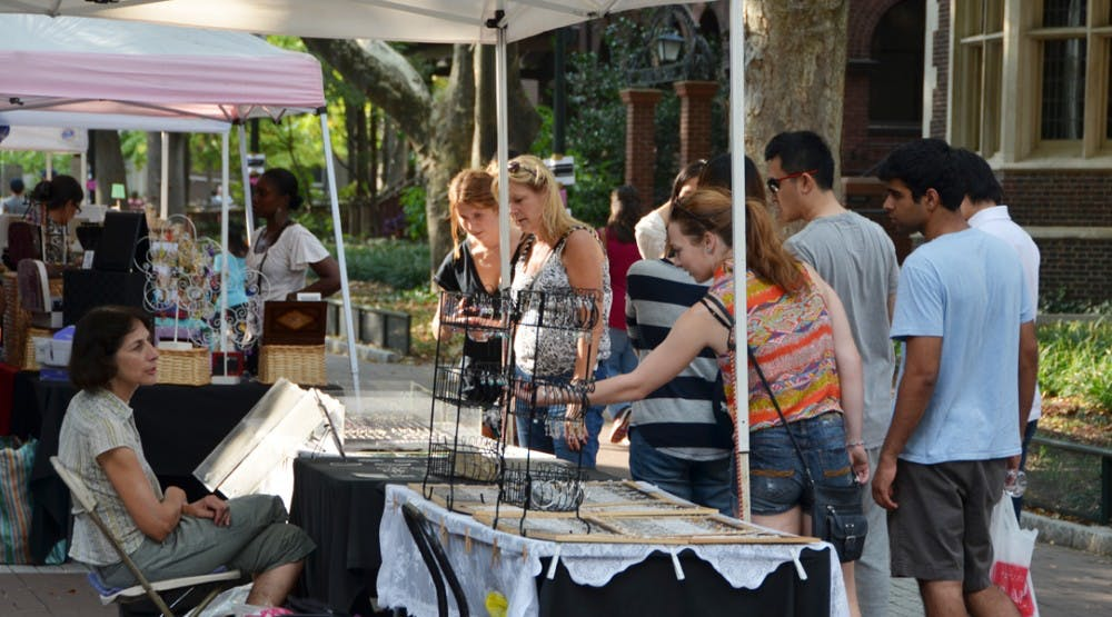 Locust Walk Arts Fair