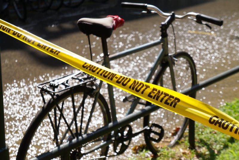 Photo gallery: flood on Hamilton Walk
