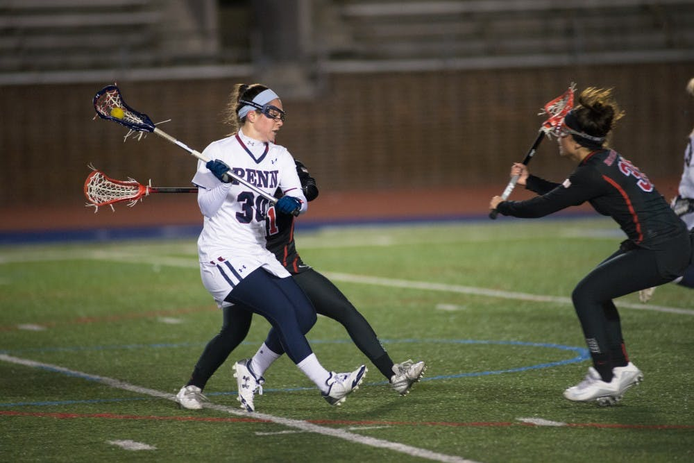 Junior midfielder Alex Condon will look to continue her strong play next weekend when Penn takes on Delaware.
