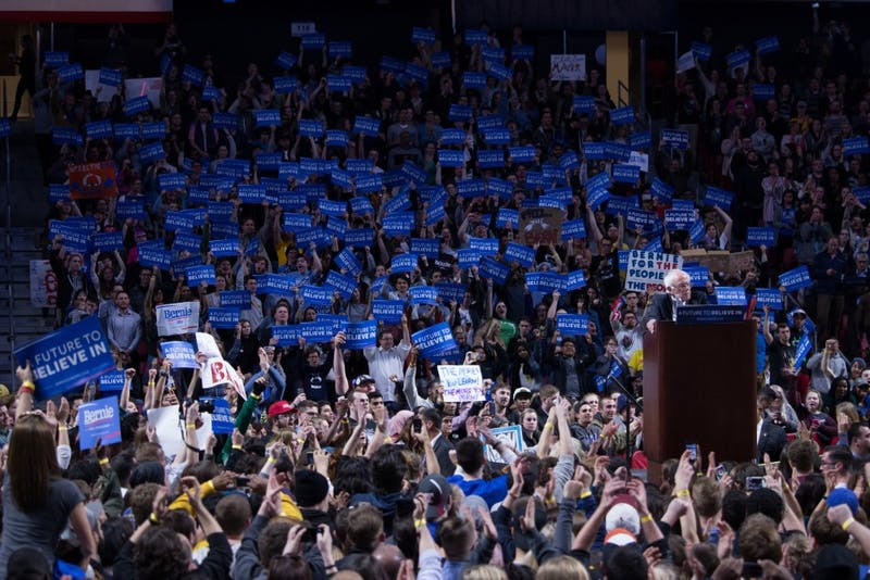 Bernie Sanders hosts rally at Temple