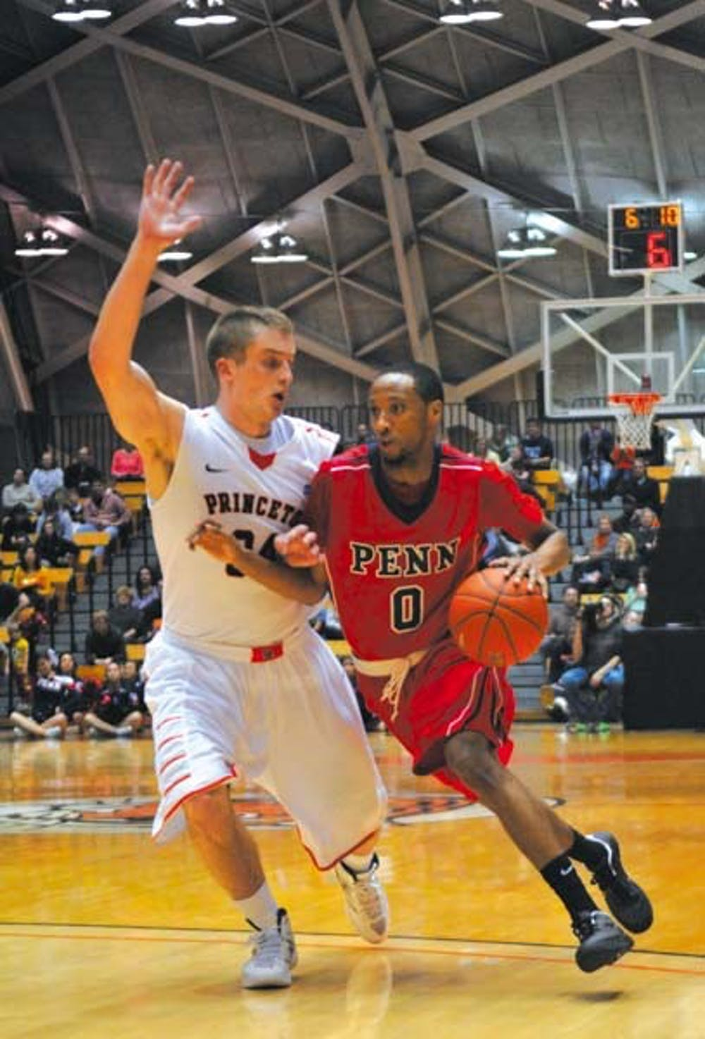 Men's basketball vs Princeton