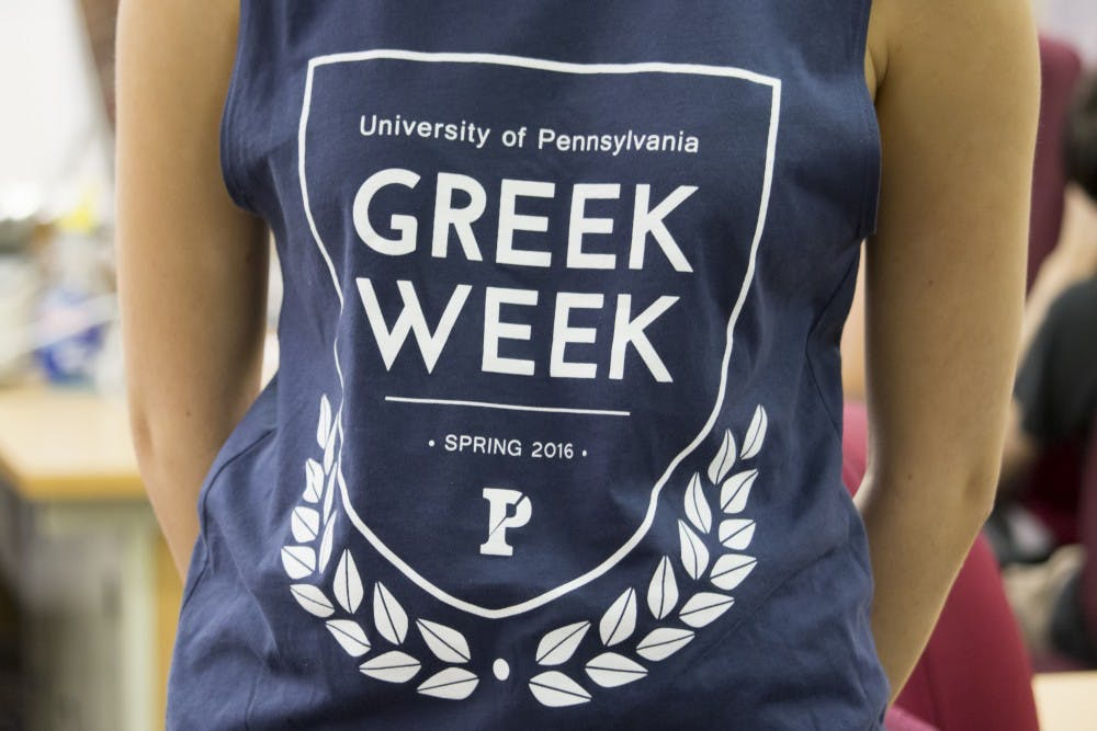 Greek Week, involving the Panhellenic Council, Interfraternity Council and the Intercultural Greek Council, was hosted last week, included talks and workshops for members.