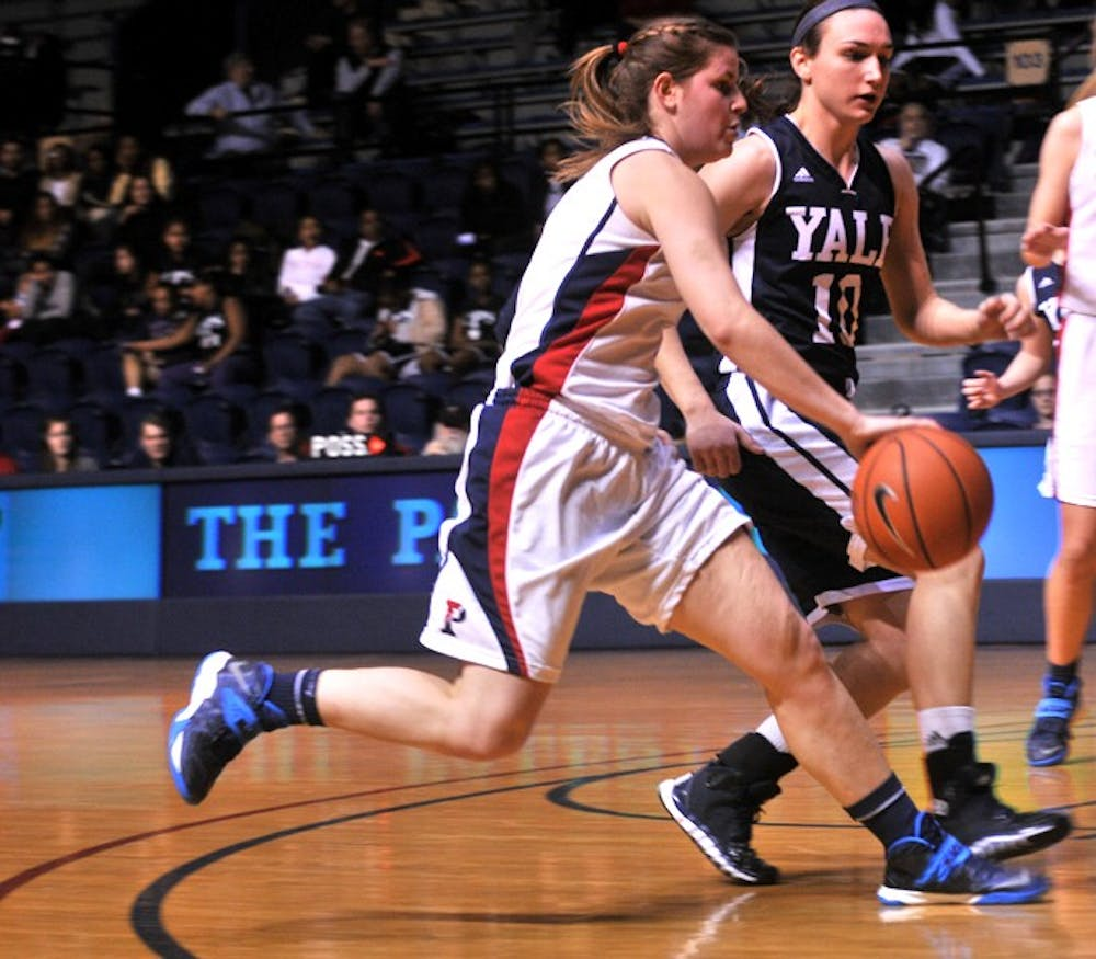Women's Hoops victory over Yale