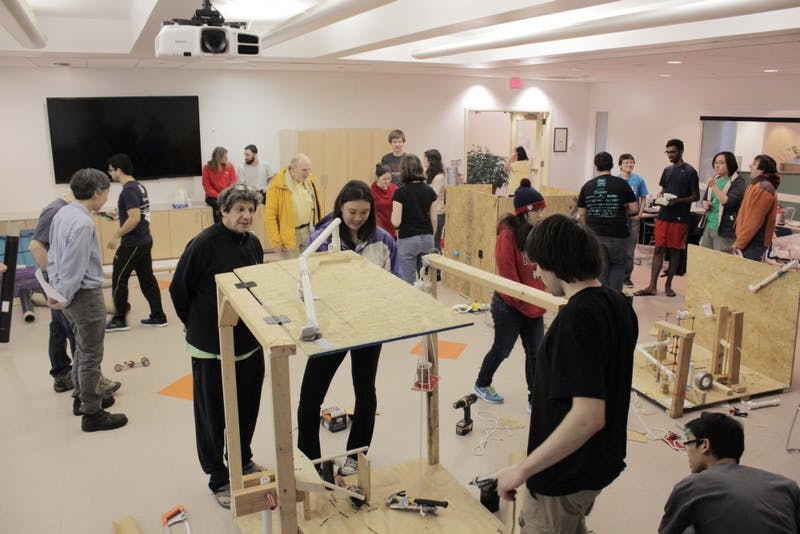 A Recap in Photos: Rube Goldberg Competition