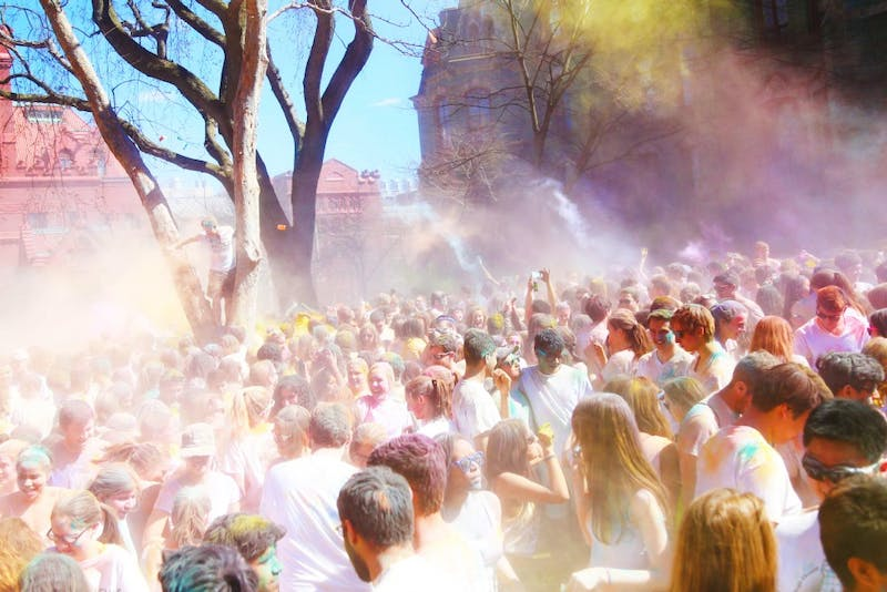 A Recap in Photos: Holi 2015