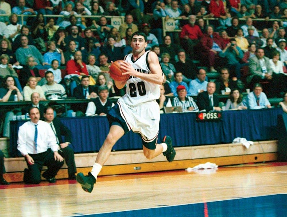 Matt Langel m basketball v yale