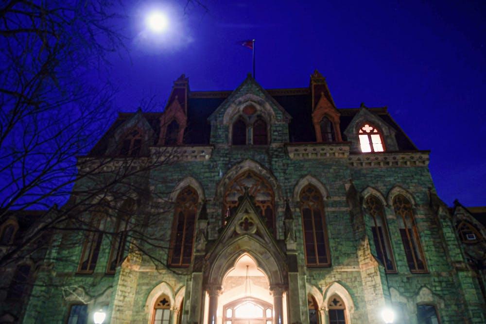 college-hall-moon-night-coronavirus