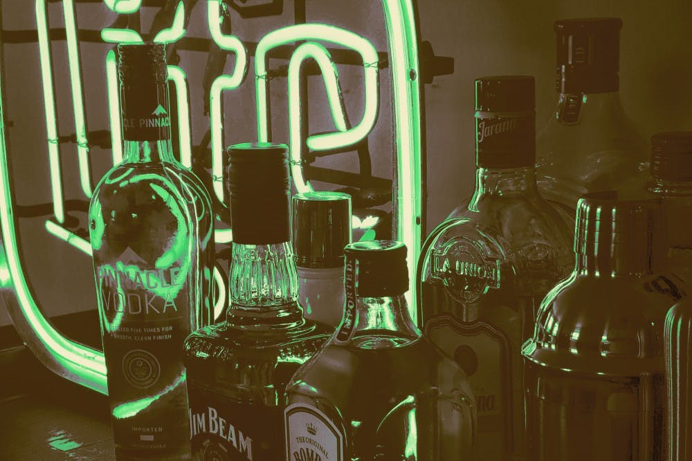 alcohol-bottles-neon-sign