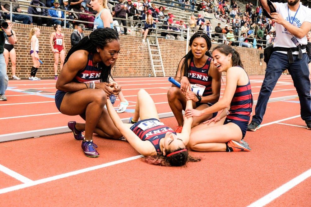 penn-relay-women-track-team