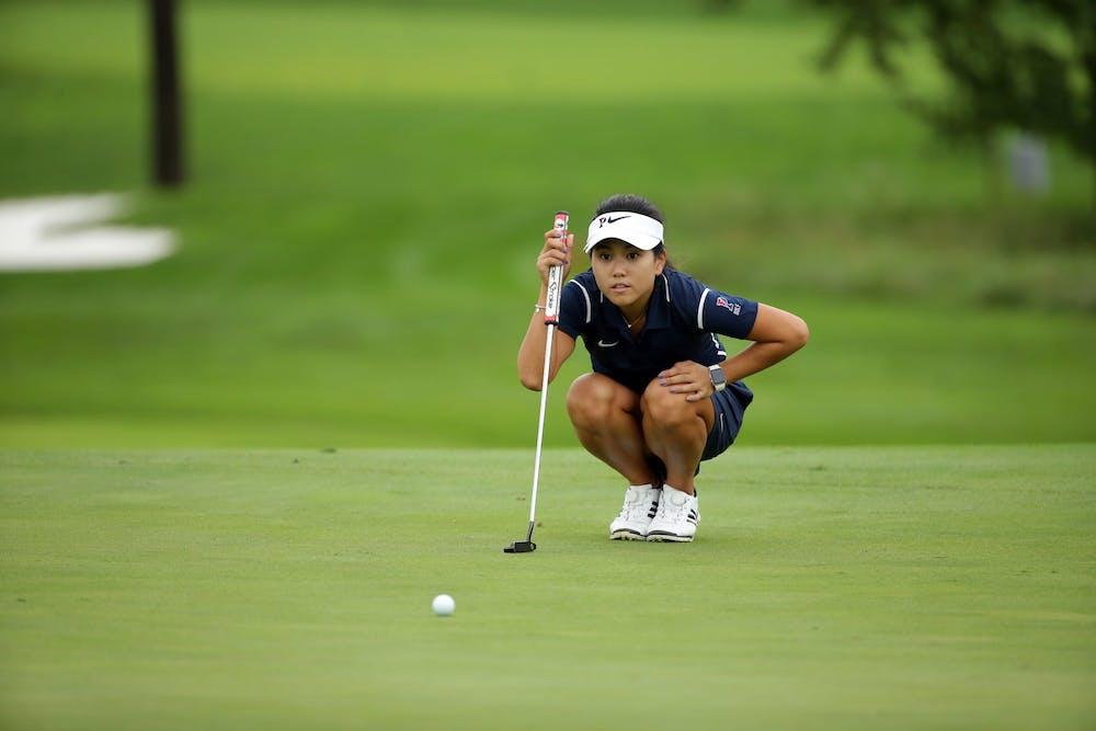 womens-golf-covid-check-in-mary-shin