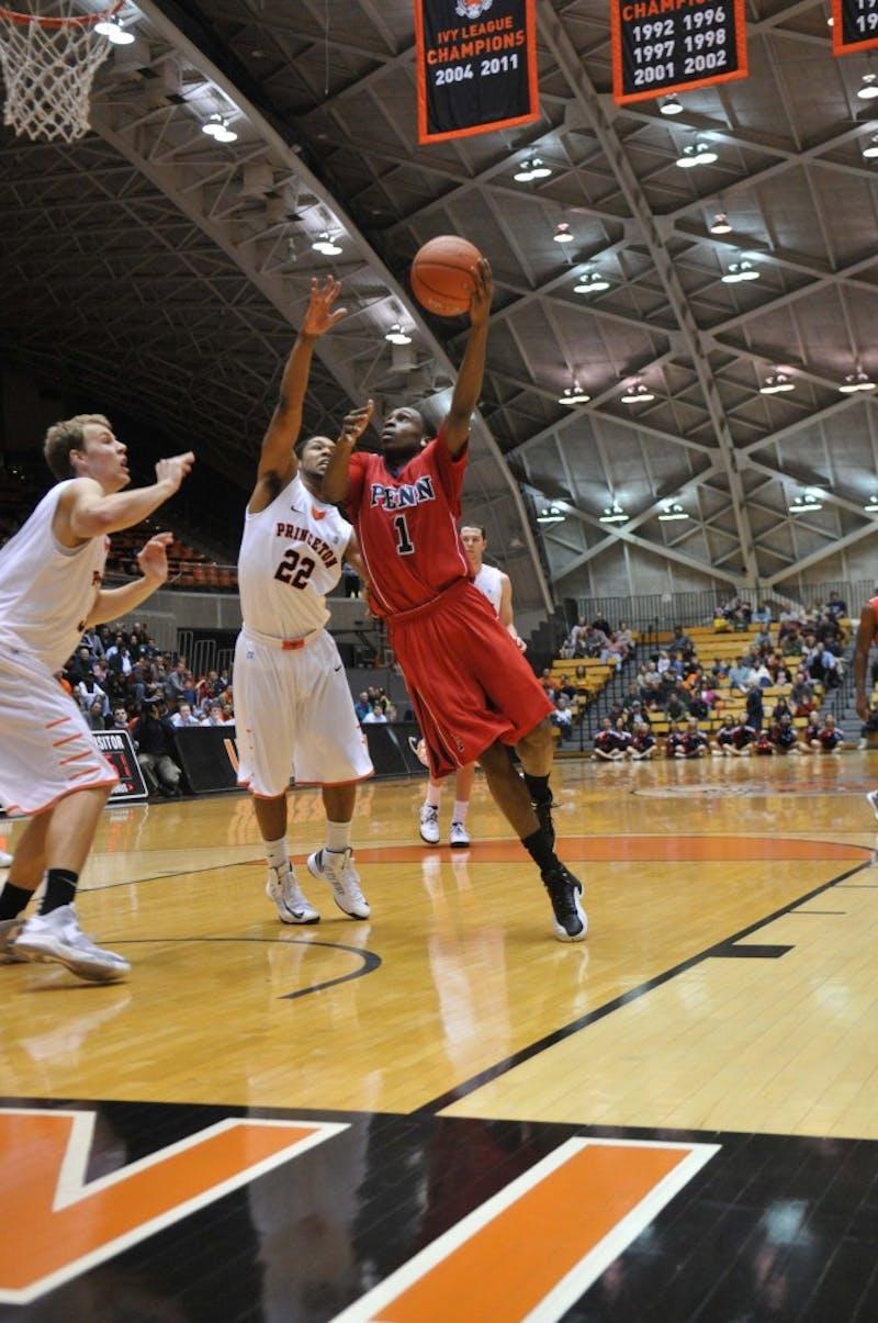 Men's hoops falls to Princeton