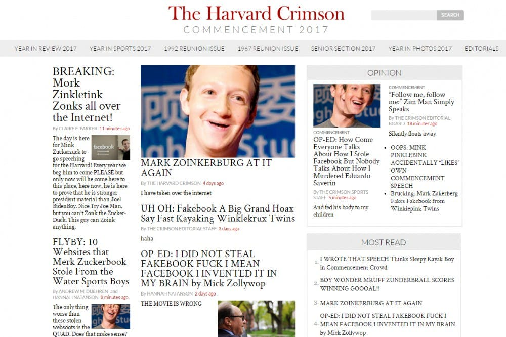 The Harvard Crimson's site targeted in apparent hack | The
