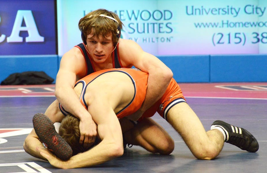 Sophomore C.J. Cobb revealed himself to the wrestling world this season, posting a 25-8 record after missing most of last year due to injury. Cobb was the No. 10 seed in the 141-pound weightclass at this year's NCAA Tournament and finished as the runner-up in the 2013 EIWA Championships.