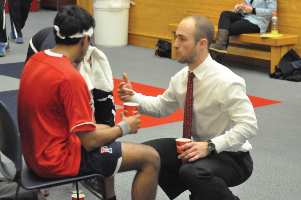 Gilly Lane, an assistant coach for Penn squash, guided the US national men's team to a bronze medal at the 2015 Pan-American games. Lane credits his participation in the event a year ago as a player/coach a major ingredient for the team's success.