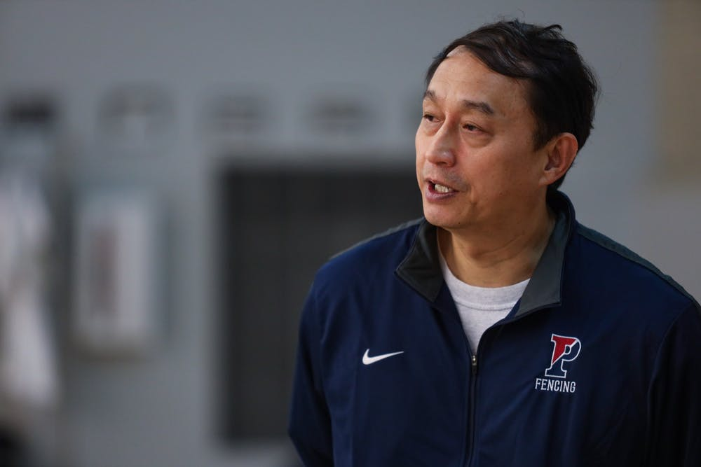 After a decade coaching Penn fencing, Andy Ma is the program's heart and soul