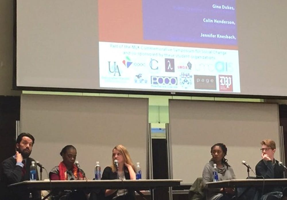 The Open Expression Panel discussed the ideas of safe spaces and microagressions.