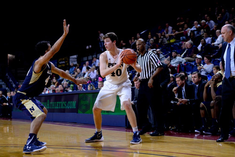 Sophomore forward Dan Dwyer started his second career collegiate game in Penn's third straight loss.