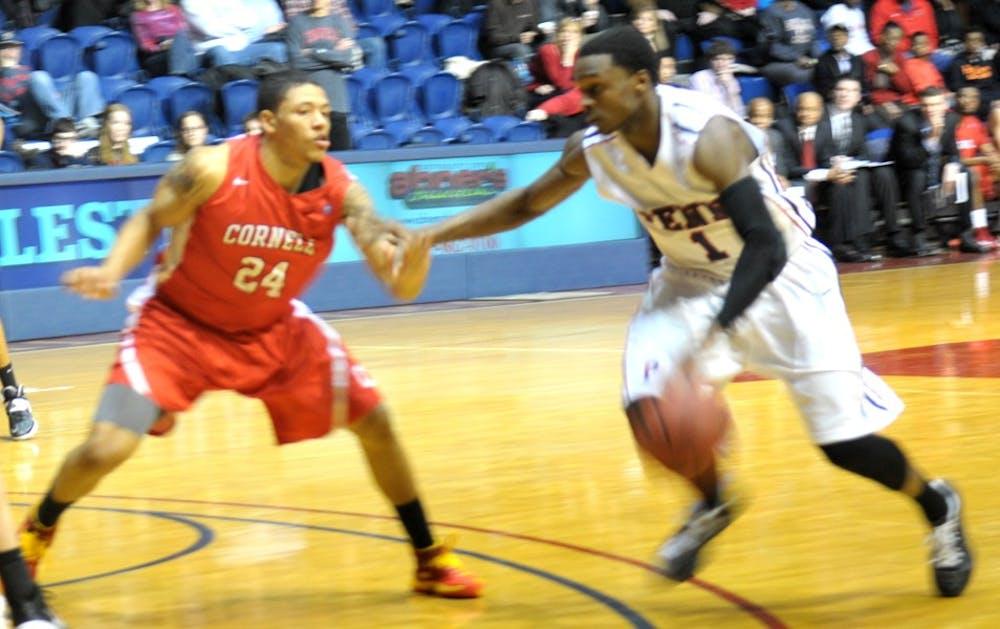 Men's Basketball beats Cornell