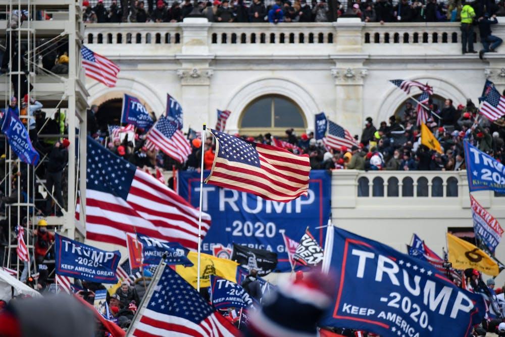 trump-protest-riot-capitol-washington-dc-american-flag