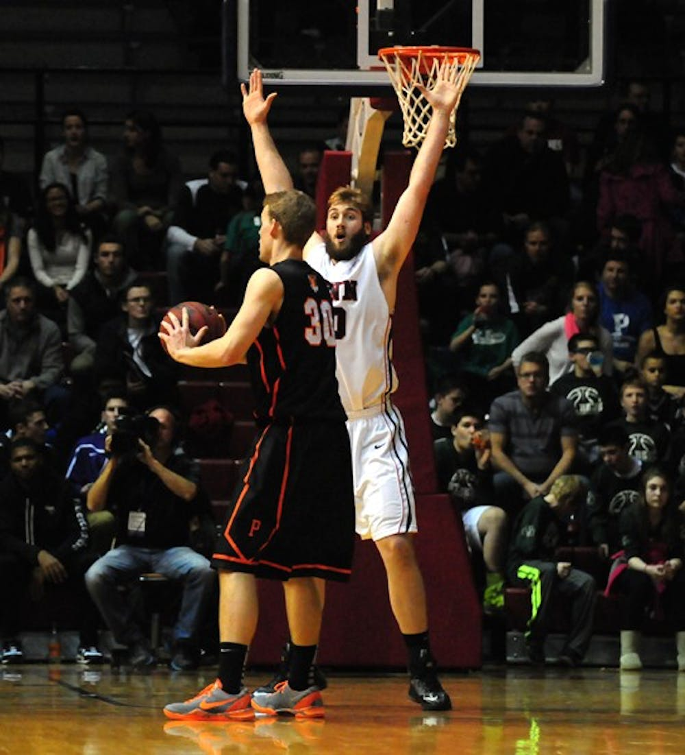 Men's Basketball vs. Princeton, their biggest victory in two years
