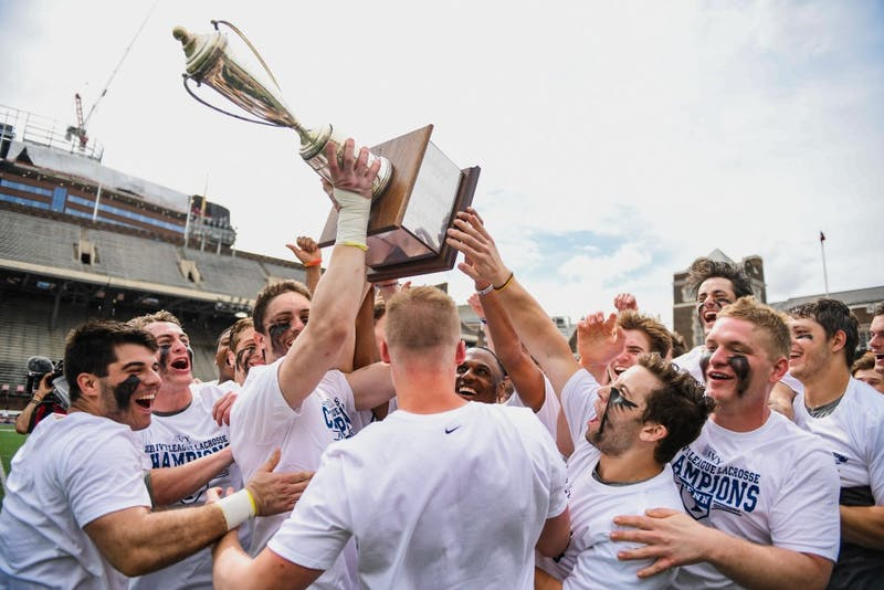 Photo Gallery | Penn men's lacrosse wins the outright Ivy title