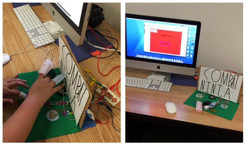 Using the scratch software developed by Kafai, students create their own video games, which are then tested by their peers outside of the class in an arcade day.