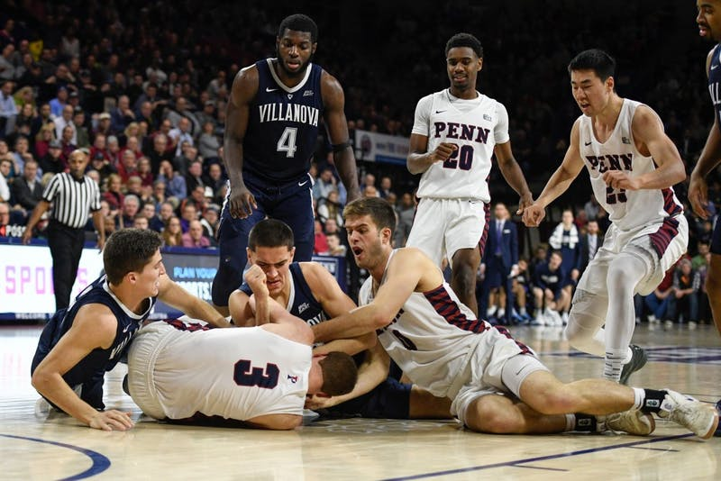 Penn Men S Basketball Pulls Away Late Against New Mexico To Seal 75