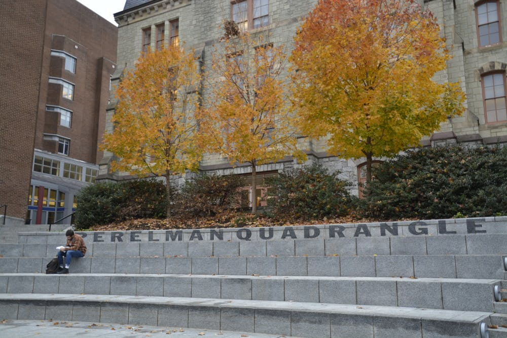 perelman-quadrangle-fall-campus