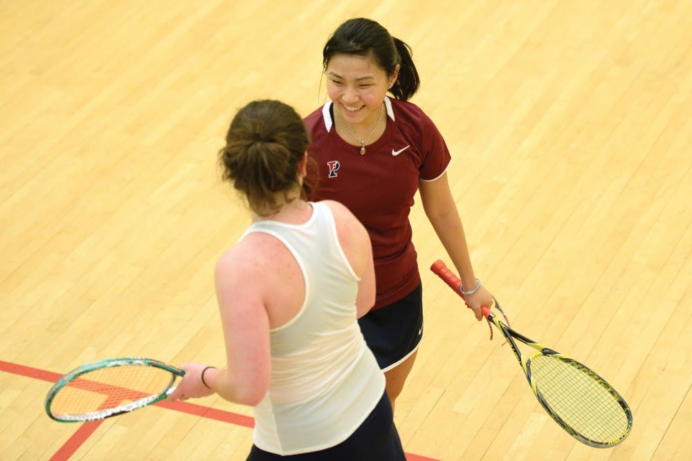 With Penn squash fresh off two sweeps, senior captain Yan Xin Tan will lead the women's side against No. 21 St. Lawrence and No. 12 Williams