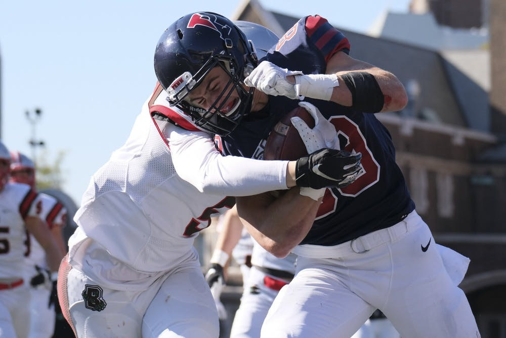Photo Gallery | Penn football's first Ivy League victory over Brown 38-36