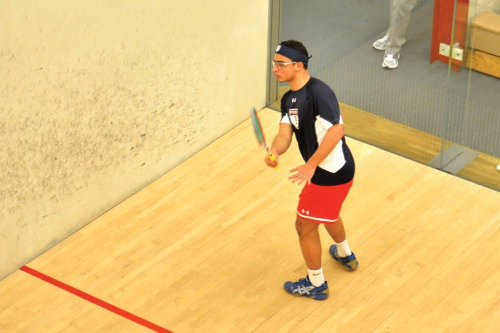 Penn mens Squash vs F&M